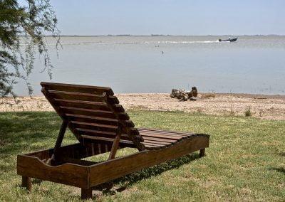 contemplar el lago